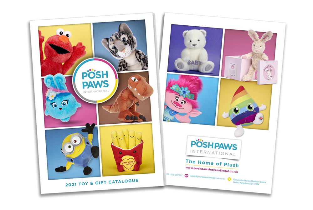 Posh Paws Soft Toys Catalogue 2021