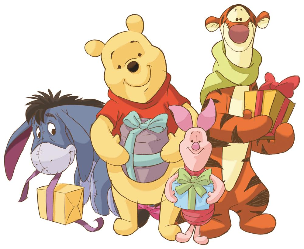 Winnie the Pooh_Toys_Presents