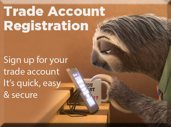 Trade Account Registration