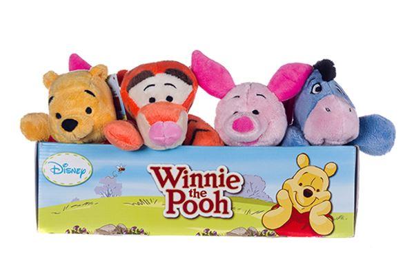 "Winnie the Pooh Snuggletime Eeyore Soft Toy 12/"""